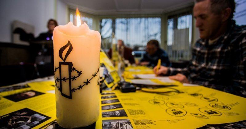 Schrijfmarathon-Amnesty