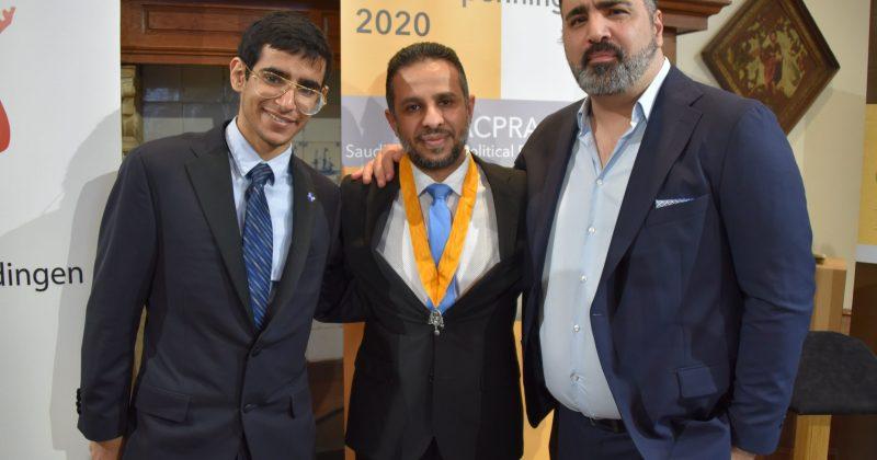 Omar, een zoon van een van de oprichters van ACPRA, Yayha Assiri en Sinan Can